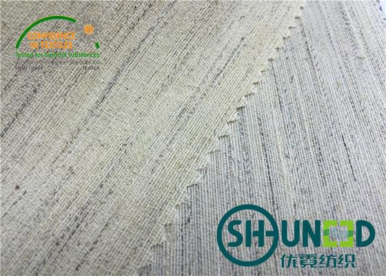 Polyester Uniform Interlining Fabric Lining Stiff And Smooth